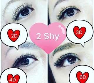 Eyelash Extension Half Price Promotion