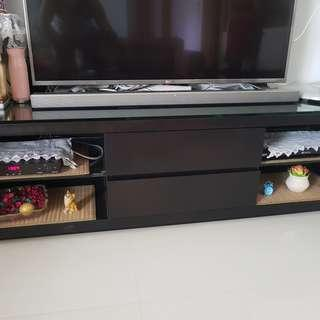 MOVING OUT SALE#1 - TV STAND, DINING TABLE, PATIO TABLE