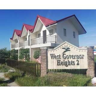 2 Bedrooms Townhouse (Complete with tiles) in West Governor Heights 2, Brgy. Cabuco, Governnor's Drive, Trece Martires,, Cavite