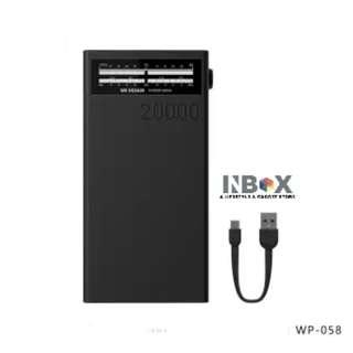 🚚 WK Design 20000mAh Sound Power Bank WP-058 (Black)