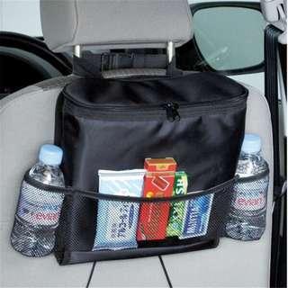 🚗 MULTIFUNCTION CAR SEAT BACK STORAGE BAG COOLER