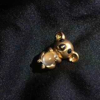 18K超級可愛樹熊(考拉)吊墜