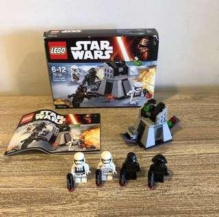 *Used* Lego 75132 Star Wars First Order Battle Pack
