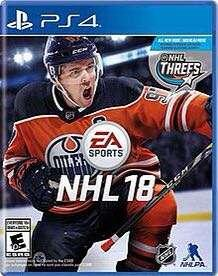 NHL 18 PS4 Game