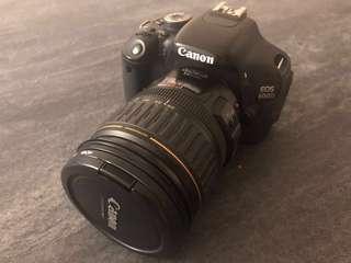 Canon 600D 連鏡頭充電