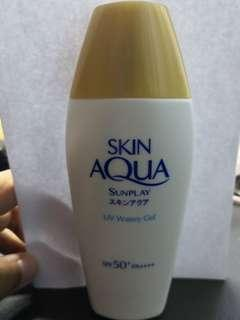 Skin aqua sunplay uv watery gel[free postage]