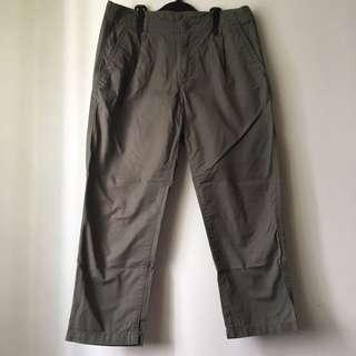 Muji Khaki Pants