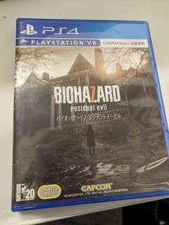 PS4 Biohazard 7 生化危機7 Resident Evil 7