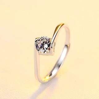 925 Silver Ring Adjustble