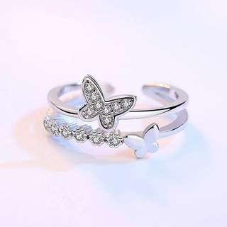 925 Silver Ring Adjustable