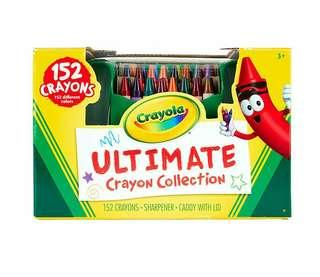 🚚 Crayola; Ultimate Crayon Collection; Art Tools; 152 Colors, Durable Storage Case, Long-Lasting Colors