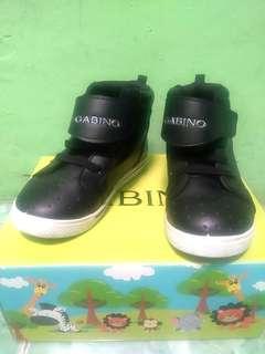 Sepatu anak Gabino boot hitam