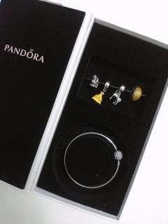 🈹六折 限量全新Pandora 美女與野獸 beauty and the beast 魔髮奇緣 Tangled