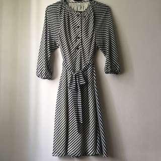 Hansel Bnw Striped Dress