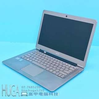 🚚 富甲電腦科技 全新120G SSD ACER S3-951 i5-2670M 4G 13吋 超輕薄高效能 二手筆電