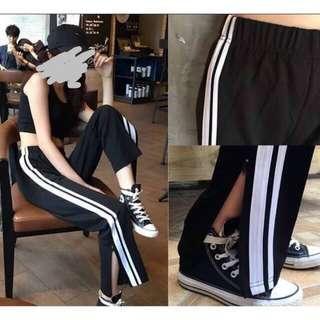 Stripe Pants Cuts