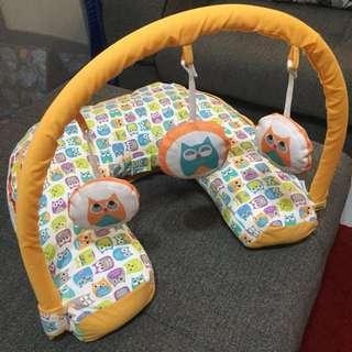 Nursing pillow/baby gym/ back support