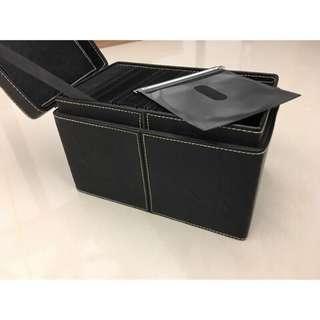 🚚 #光碟收納盒 #光碟盒 #收納盒 #時尚黑#光碟片收納盒 #皮革收納盒 #皮革收納 #收納 #光碟珍藏盒#有愛可議