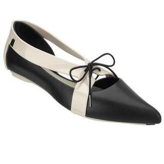 Melissa Black Pointy OXfords