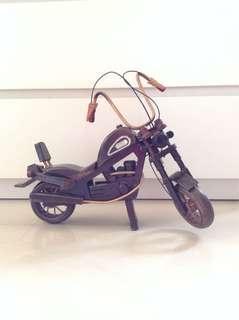 Wooden Replica Harley Davidson Motorcycle