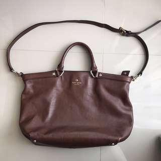 Kate spade brown kulit ori / leather authentic