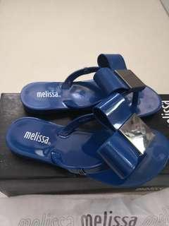 Brand New Melissa Teens Harmonic Bow Blue