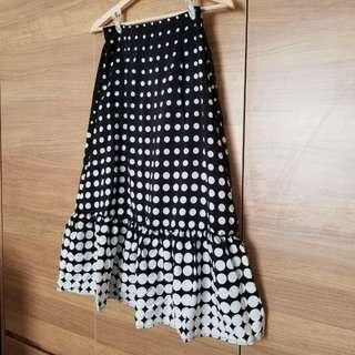 全新 韓國春夏波點半身裙