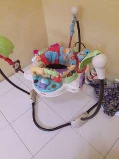 Jumperoo pengganti baby walker