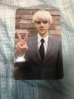 Sehun official Growl photocard
