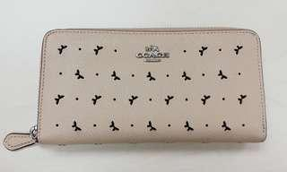 Elegant Coach Butterfly punched hole Wallet
