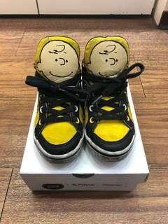 🚚 Feiyue X Peanuts 史努比聯名男童鞋