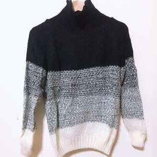 🚚 漸層套頭針織毛衣 #半價衣服市集