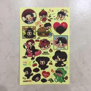 EXO chanyeol Fanart Sticker