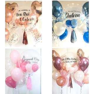 🚚 24 inch Personalised Helium Balloon