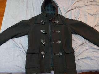 Uniqlo GU 牛角 外套 大衣