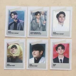 wannaone ong seong wu trading photocards