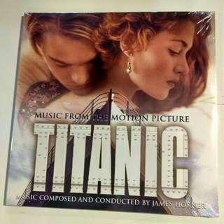 2x LP Titanic. Soundtrack. Blue Vinyl USA Exclusive. CELINE DION. Piring hitam. Record.