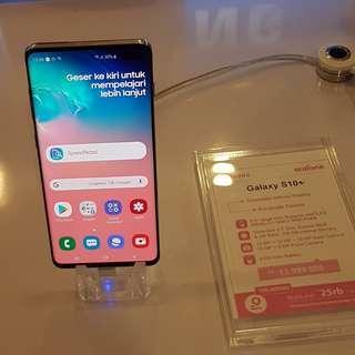 Cician Tanpa CC Bunga 0% Hp Samsung S10 Plus Free Paket 20GB