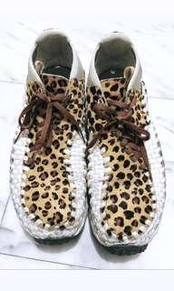 [US10.5]Nike footscape woven 豹紋編織
