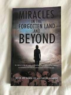Miracles in the Forgotten Land and Beyond by Setan & Randa Lee with Shelba Hammond