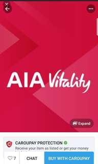 AIA Vitality Gold members