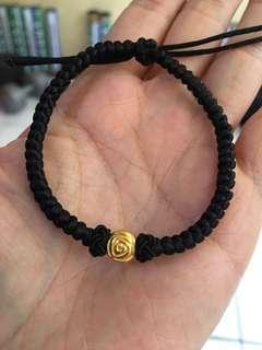 Gelang tali emas Hongkong 24K 0.460 gram