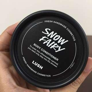 LUSH Snow Fairy Body Conditioner