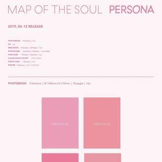 [MY GO] BTS MAP OF THE SOUL: PERSONA ALBUM