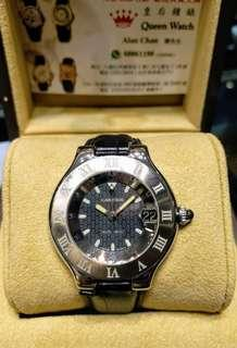 Cartier Must 21 S/S-L Auto 淨錶(Sold out)
