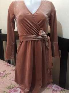 REPRICED H&M velvet dress