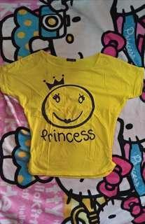 Kaos kuning princess