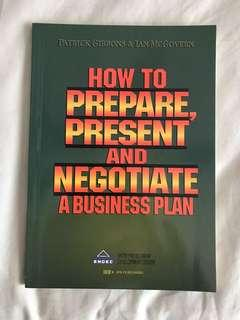 How to Prepare, Present and Negotiate A Business Plan by Patrick Gibbons & Ian McGovern