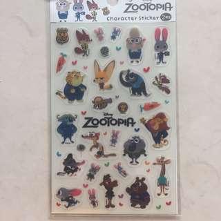 zootopia stickers
