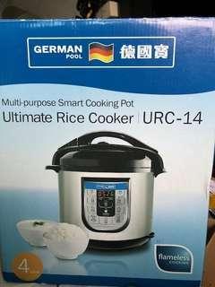 德國寶超級全能飯煲 URC 14 電飯鍋 rice cooker 接近全新 電飯煲